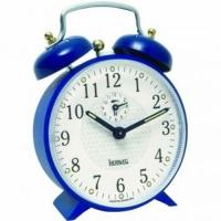 Despertador Mecânico Herweg Azul 14x10x5cm