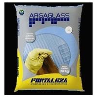 Argamassa para Pastilha de Vidro Argaglass Fortaleza 20Kg Preto 810