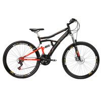 Bicicleta Track & Bikes TB Niner Aro 29 21 Marchas Preta e Laranja