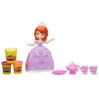 Conjunto Play-Doh Hora do Chá Princesinha Sofia Disney Hasbro