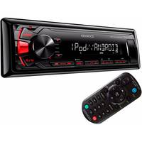 Som Automotivo Kenwood KMM-1012 Preto
