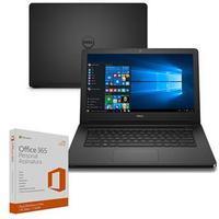 Notebook Dell Inspiron I14-5458-b37P Core I5-5200U 2.2GHz 8GB 1TB Windows 10 + Microsoft Office 365 Personal