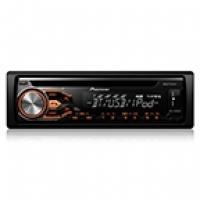 Som Automotivo Pionner com CD Player AM/FM Bluetooth Entrada USB Sistema Mixtrax DEH-X4880BT