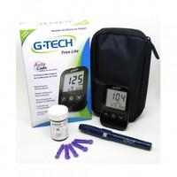 Kit Medidor de Glicose G-TECH Free Lite + 10 Tiras