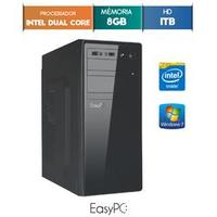 Computador Easypc 5477 Dual Core 2.41GHz 8GB 1TB Windows 7