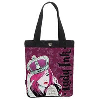 Totebag Pacific Lady Ink Queen Vinho e Preto