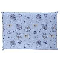 Travesseiro Antissufocante Baby Joy Robozinho Azul