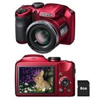 Câmera Digital FujiFilm FinePix S4800 16.MP Vermelha