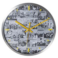Relógio de Parede DC Comics Preto e Branco