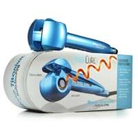 Cacheador Profissional Babyliss Miracurl Nano Titanium Azul 110V