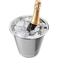 Balde para Champagne em Aço Inox com Aba 4 Litros e Caixa Gift Euro Home