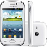 Smartphone Samsung Galaxy Young Duos TV GT-S6313T Desbloqueado GSM Dual Chip Android Branco