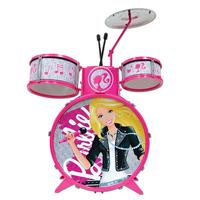 Bateria Infantil Monte Líbano Barbie Rosa