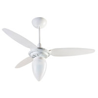 Ventilador de Teto Ventisol Wind Premium 3 Hélices Branco 127V