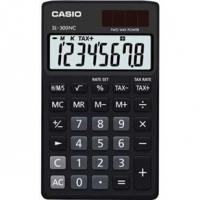 Calculadora Casio Solar SL-300NC 8 Digitos Preto