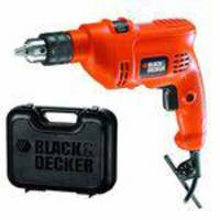 Kit Furadeira Impacto 3/8 Pol. Tm500kb2 Black  Decker - 110 Volts