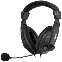 Headset VINIK Go Play FM35 Preto P2 para PC