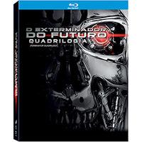 O Exterminador do Futuro Quadrilogia Blu-Ray - Multi-Região / Reg.4