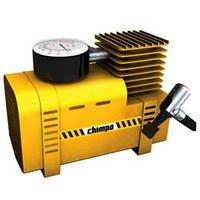 Mini Compressor de Ar Chimpa 300 PSI Amarelo