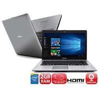 Notebook Positivo Stilo TV XR3501 Dual Core 2.25GHz 2GB 32GB Windows 10