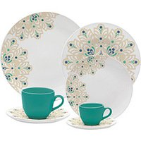 Aparelho de Jantar Oxford Porcelanas Porcelana Lindy Hop 30 peças