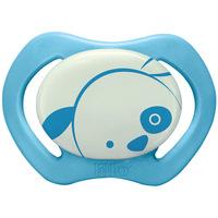 Chupeta Lillo Design Glow Ortodôntica Silicone Tamanho 1 Azul