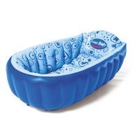 Banheira Inflável Prime Baby Aqcua Azul