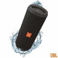 Caixa de Som JBL para Aparelhos com Conexão Bluetooth e P2 FLIP3 Preto