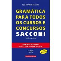 Gramática Para Todos Os Cursos e Concursos Sacconi
