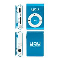 MP3 Player You Sound 8GB Azul
