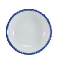 Saladeira Redonda Schmidt Julia Porcelana 24Cm
