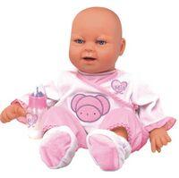 Boneca Coleção Amore Real Baby Rosa Estrela