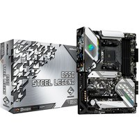 Placa Mãe ASRock mATX AM4 DDR4 B550 Steel Legend