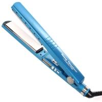 Prancha de Cabelo Babyliss Nano Titanium Pro 1/4 230°C Azul 110V