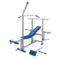 Estação de Musculação Star BodyBuilder Cinza e Azul