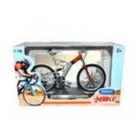 Miniatura Bicicleta Audi Design Cross Pro 1:10 - Welly