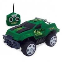 Carrinho De Controle Remoto Mimo Os Vingadores Hulk 7 Funçoes 3192 Verde