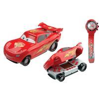 Minigame Candide Carros Racing McQueen + Relógio Candide Carros Racing McQueen