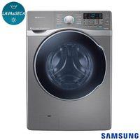 Lava e Seca Samsung WD15H7300KP 15Kg Inox com Auto Dispenser