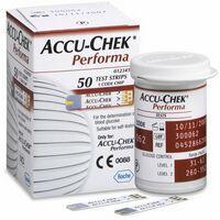 Tiras Accu-Chek Performa c/ 50 Unidades Roche