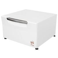Pedestal Gaveta Amiga para Lavadora e Secadora Electrolux LG Samsung APCG-61BR Branco