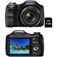 Câmera Sony Digital DSC-H200 20.1MP Preta