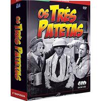 Box Os Três Patetas:2ª Temporada Completa 3 DVDs - Multi-Região / Reg. 4