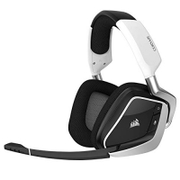 Headset Gamer Corsair VOID PRO RGB Wireless, Corsair, Microfones e fones de ouvido, Branco