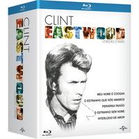 Coleção Clint Eastwood 5 DVDs Blu-Ray - Multi-Região / Reg.4