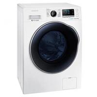 Lavadora e Secadora Samsung Crystal Gloss Door WD10J6410AW 10.1Kg Branca