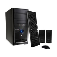 Computador Pc Mix J1800 Intel Dual Core 4GB 500GB Linux Preto