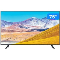"Smart TV 4K LED 75"" Samsung UN75TU8000GXZD Wi-Fi Bluetooth HDR"