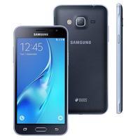 Smartphone Samsung Galaxy J3 Duos SM-J320M/DS Desbloqueado GSM Dual Chip 8GB 4G Android 5.1 Preto