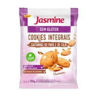 Cookie Jasmine Sem Glúten Castanhas do Pará e Caju 150g